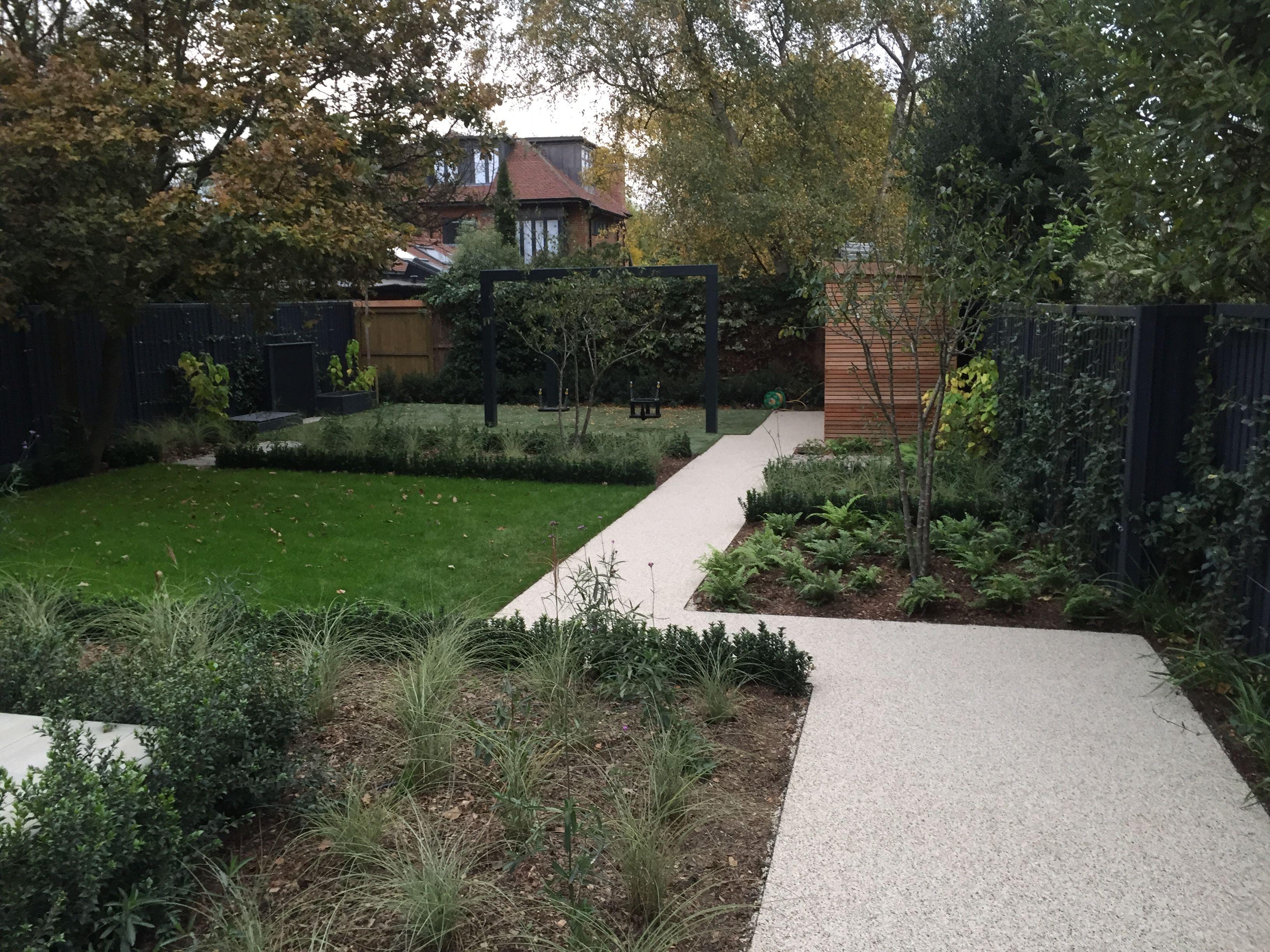 Chic modern garden design in chelsea by declan buckley with steps and - Design Declan Buckley Building Natures Balance Landscapes Planting Koru Gardens Resin Bound