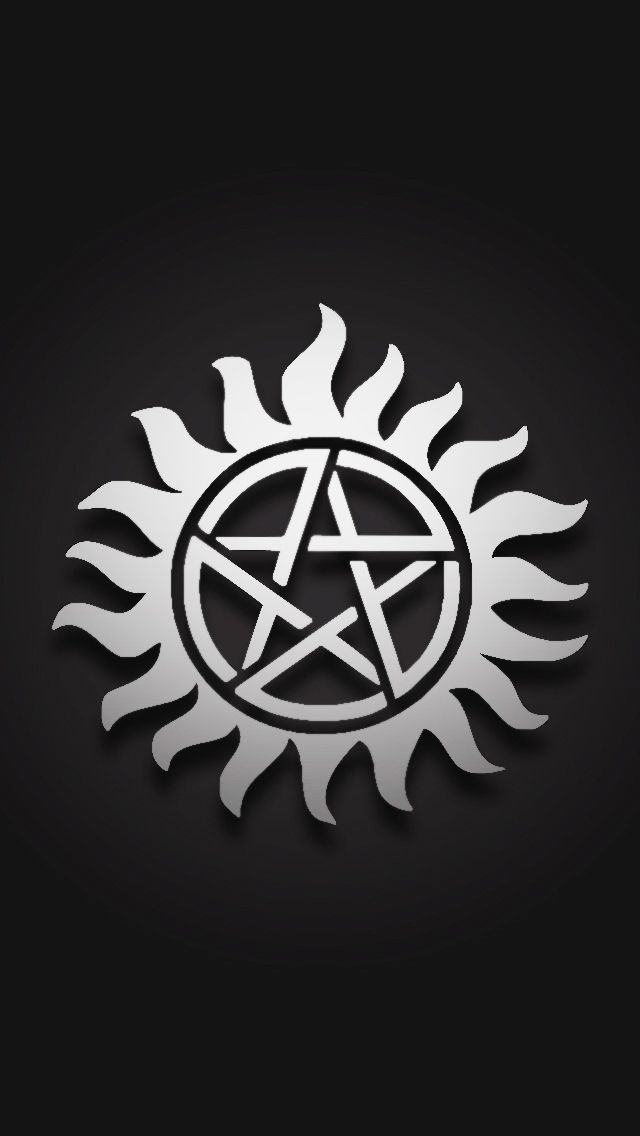 supernatural logo tattoos - 640×1136