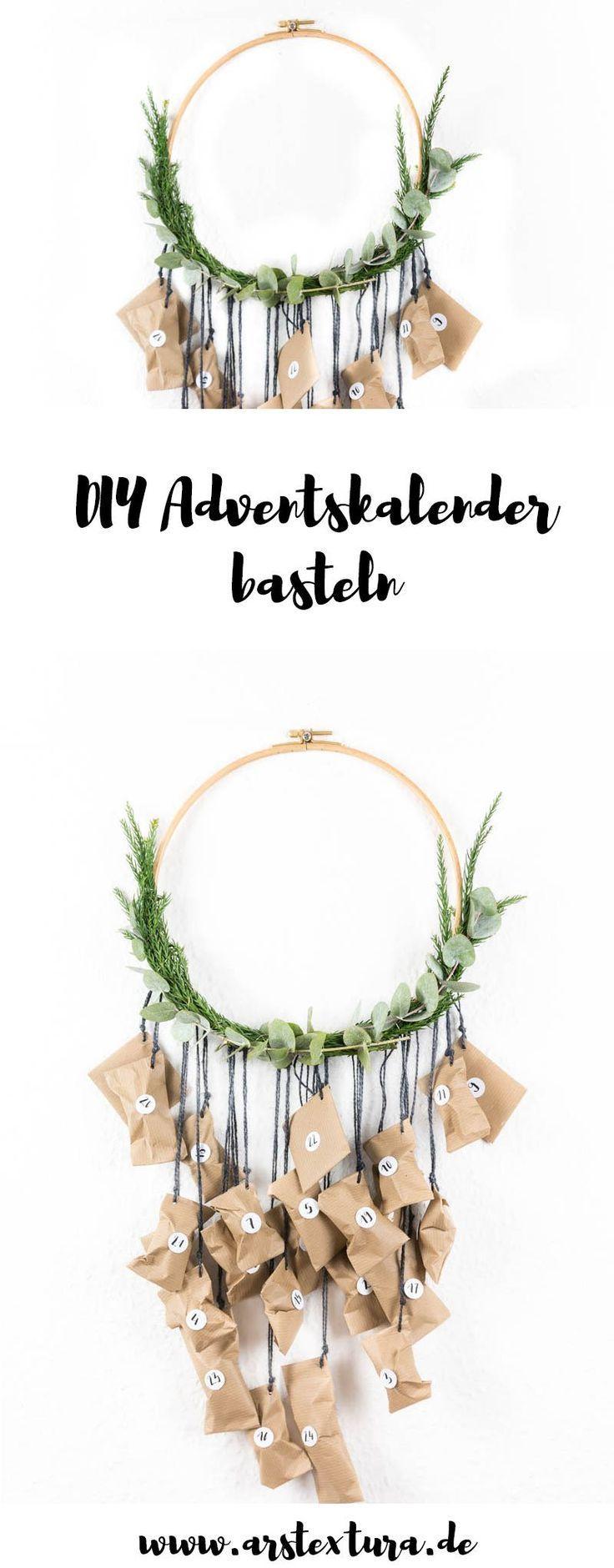 Photo of Adventskranz und Adventskalender basteln | ars textura – DIY-Blog