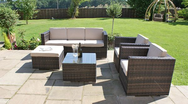 Barker and Stonehouse Amberley 3 Seater Sofa Set #garden #outdoor ...