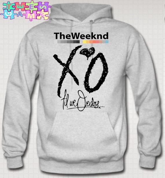 51612b7d7c4 XO The Weeknd Till We Overdose Hoodie