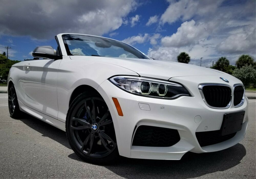 2016 Bmw 2 Series M235i Xdrive Awd 2dr Convertible Watch Video Carfax Cert Tech Pkg Driver Assist Cold Weather 57k New Bmw Trucks For Sale Bmw 2