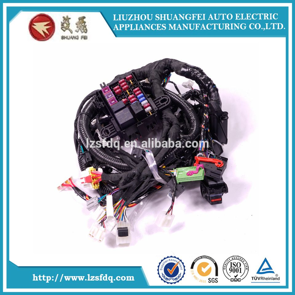 OEM&ODM Trailer Main Fuse Block Car Automotive Wire Harness Assembly