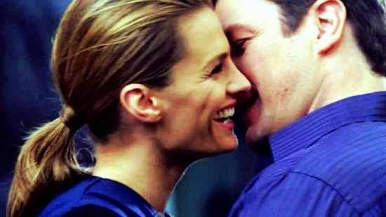 Stana Katic and Nathan Fillion... they are so perfect for each other...(in the show) but they make a really cute couple in real life too!!!!!!!!!