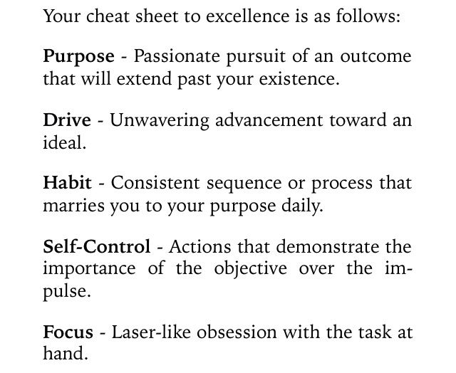 Chapter 11 - Idea of Excellence Book