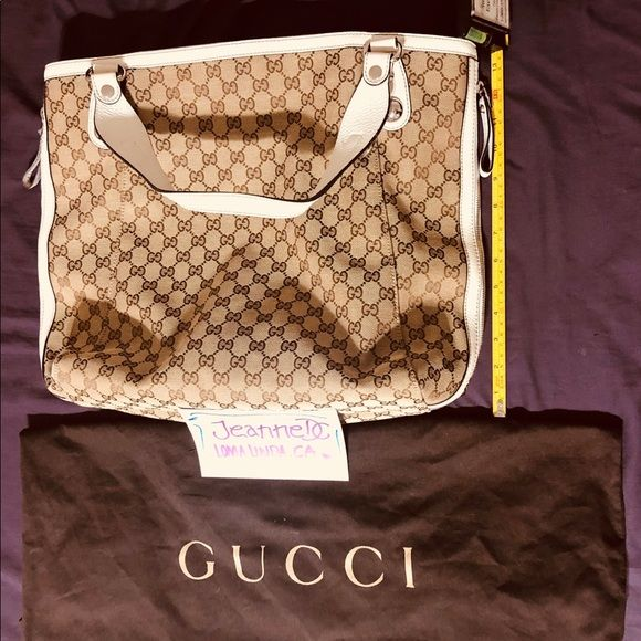 f86e1208c75 Authentic   Brand New Gucci Large Bag • Brand new