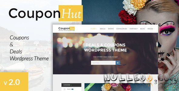 CouponHut v2.0  Coupons & Deals WordPress Theme