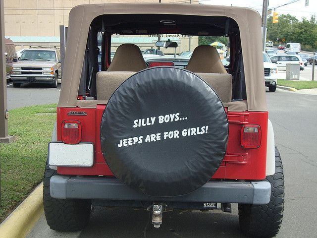 Silly Boys Jeeps Are For Girls I Really Want This Tire Cover Jeep Tire Cover Tire Cover Jeep