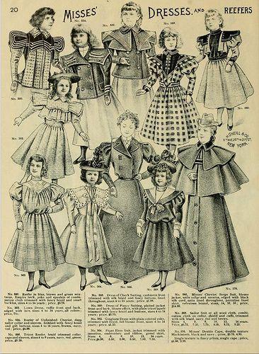 1898 Vintage Fashion O Neills Catalogue No 20 Fashion Vintage Fashion Fashion Illustration Vintage