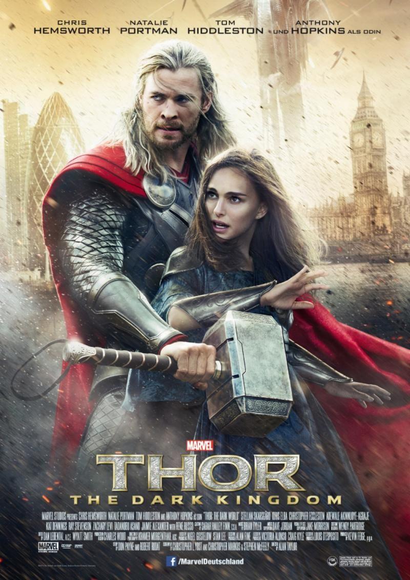Thor 2 The Dark Kingdom Auch 3d Thor The Dark World Mehr Infos Zum Film Auf Http De Mar Chris Hemsworth Filme Filmstars