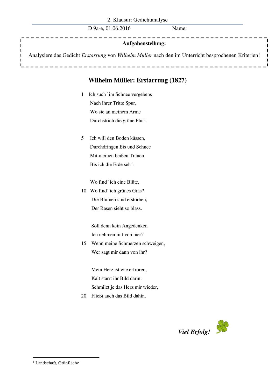 Gedichtanalyse In 2020 Liebeslyrik Gedicht Analyse Gedichte