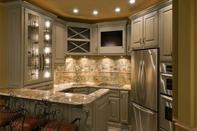 Delicatus Gold Granite Countertops Remodeling Ideas Kitchen
