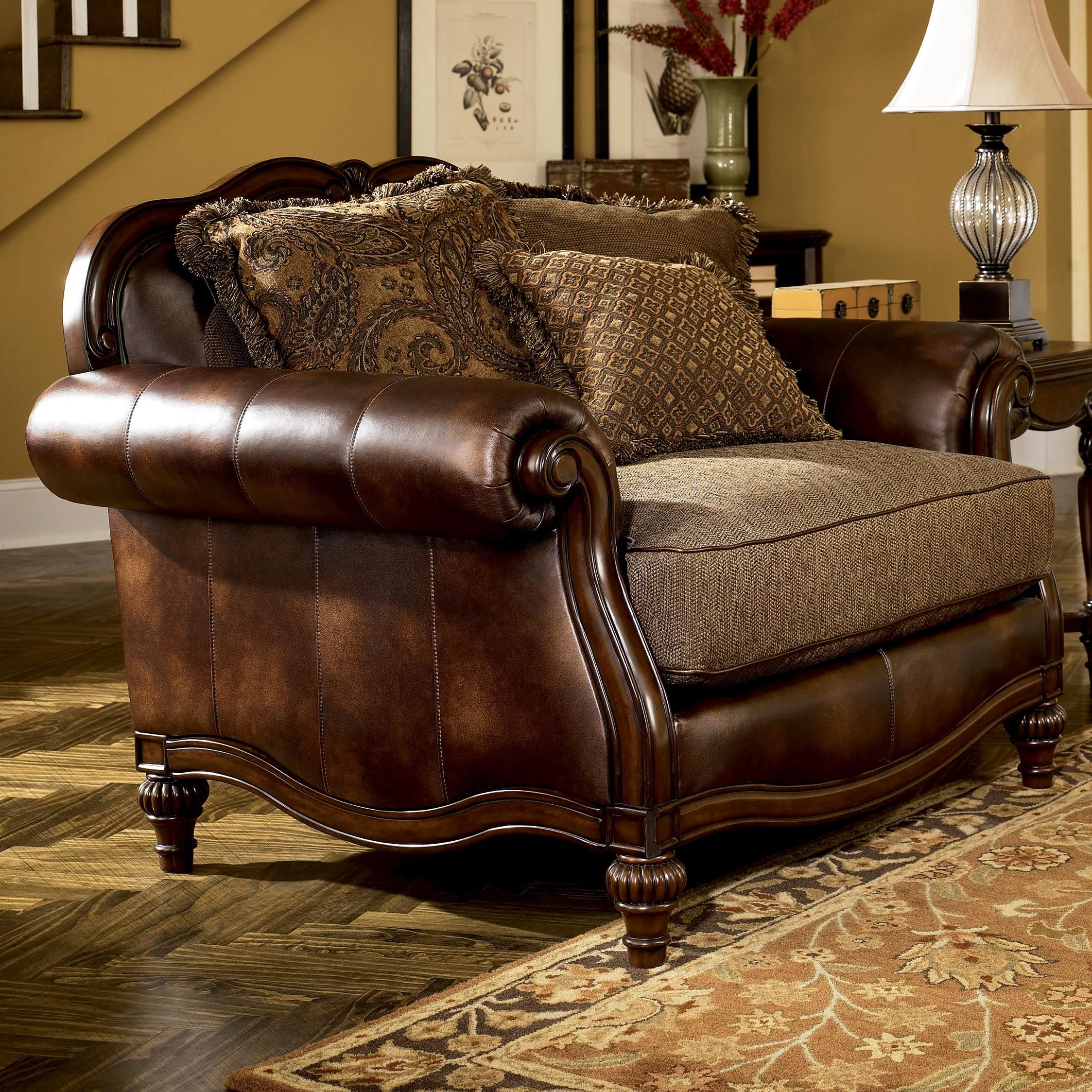Claremore Antique Chair And 1 2 By Signature Design By