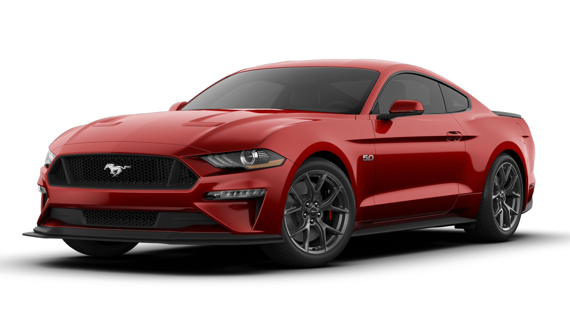 Exterior View Of 2019 Mustang Ford Mustang Hybrid Car Car