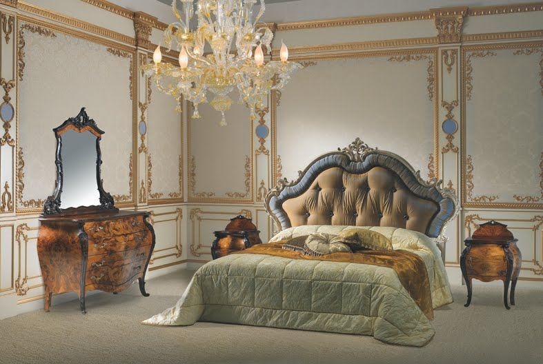 rocco furniture | Rococo Bedroom Furniture with Rich ...