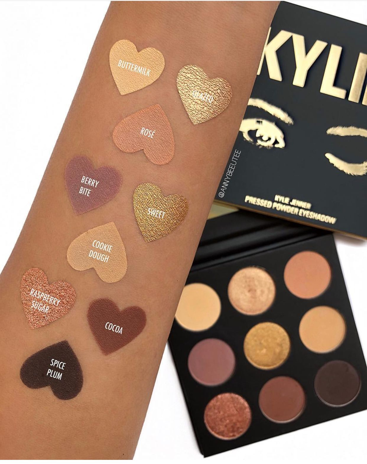 Kyshadow - The Sorta Sweet Palette by Kylie Cosmetics #4