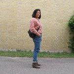 Wearing angora with jeans