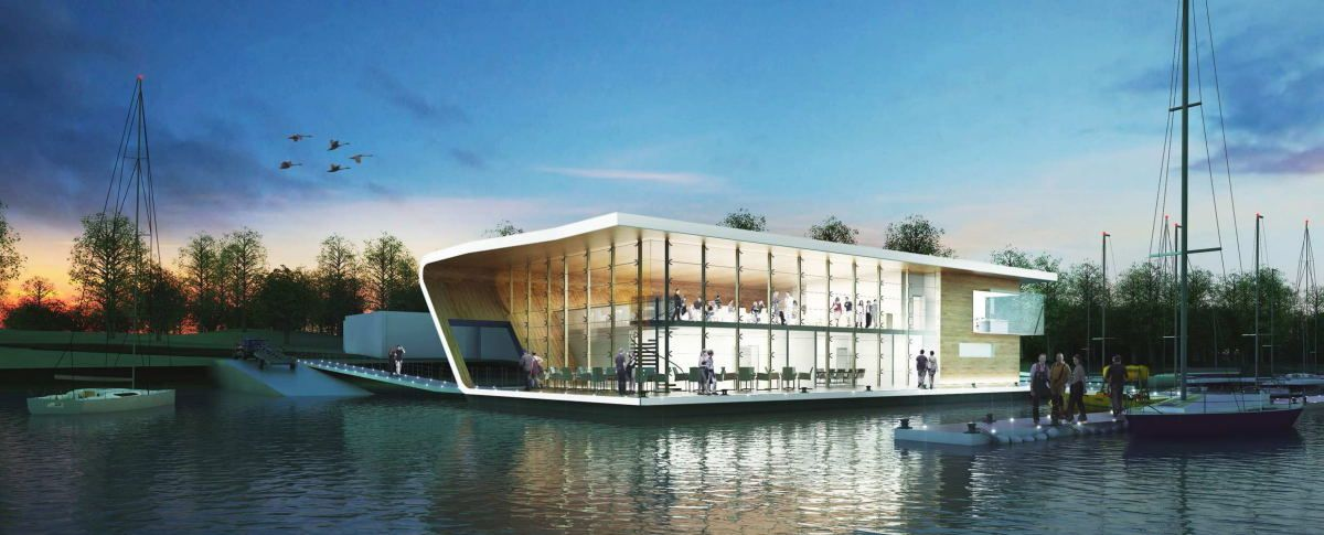 Competition entry: Ullswater Yacht Club \ PARKDESIGNED