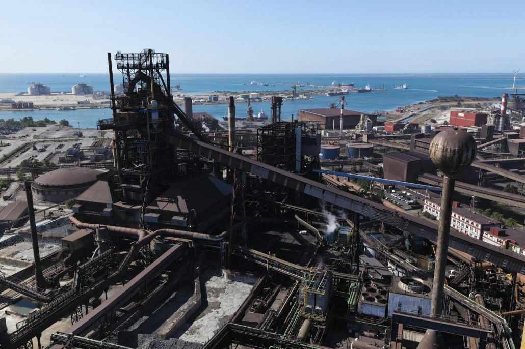 Imsat Arcelor Mittal Fos Sur Mer France Beauduc San Francisco