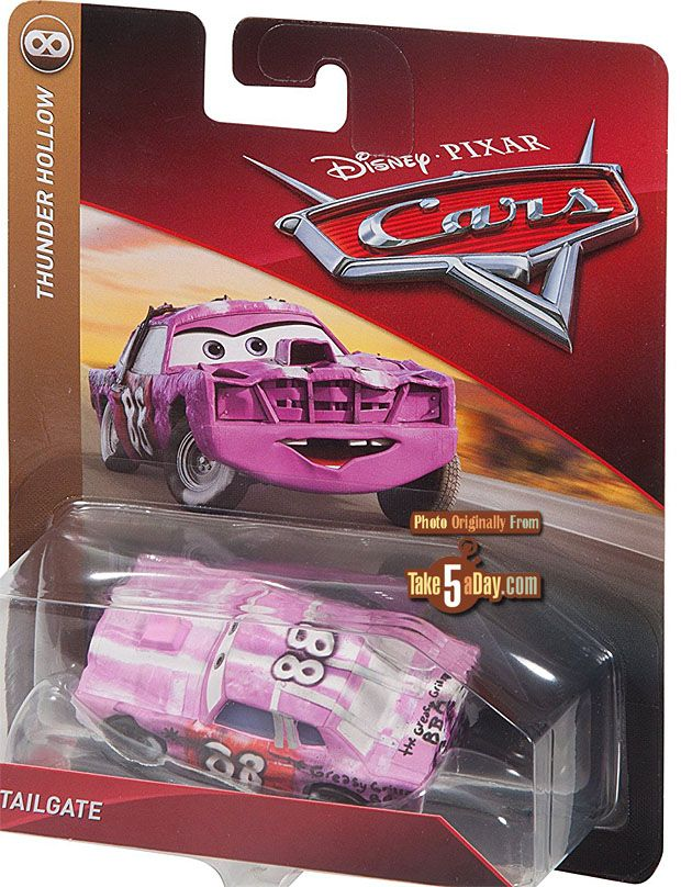 Mattel Disney Pixar Cars 3 2018 Singles On Card Preview Disney