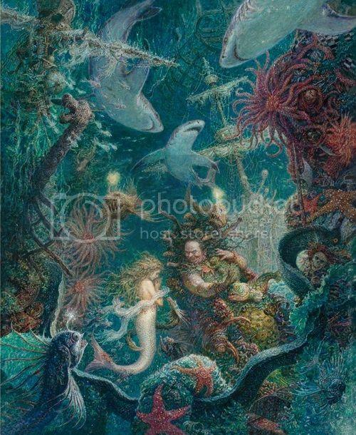 The Little Mermaid by Anton Lomaev