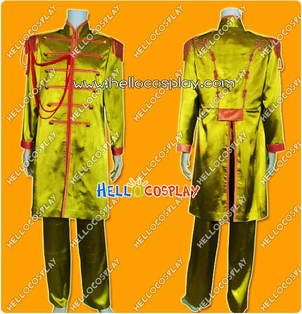 The Beatles Sgt Pepper Costume John Winston Lennon Costume Mb002 128 00 Hello Cos Beatles Sgt Pepper Beatles Costume Sgt Peppers Lonely Hearts Club Band