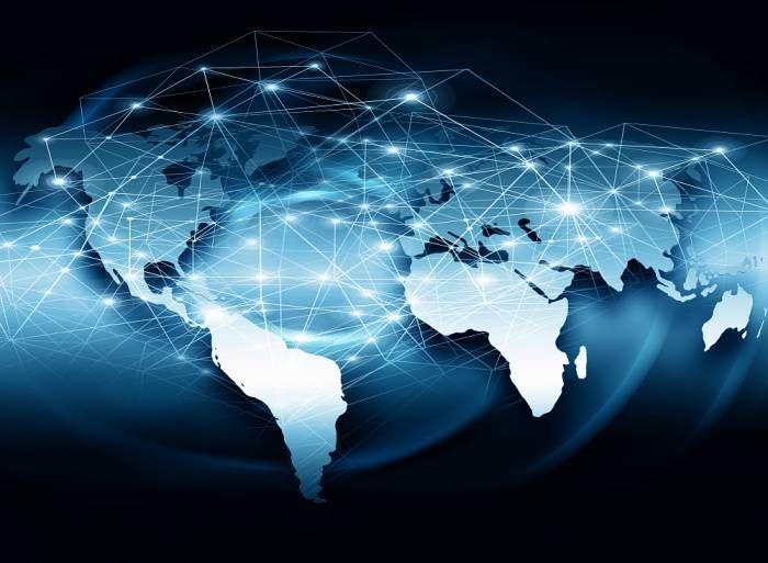 nowoczesny świat mapa - 62568957