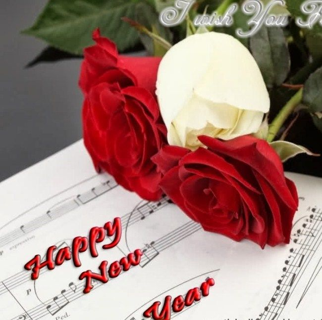 Happy New Year Rose Wallpaper 2018 | Http://2017happynewyearimagess.com |  Pinterest | Girlfriends And Wallpaper
