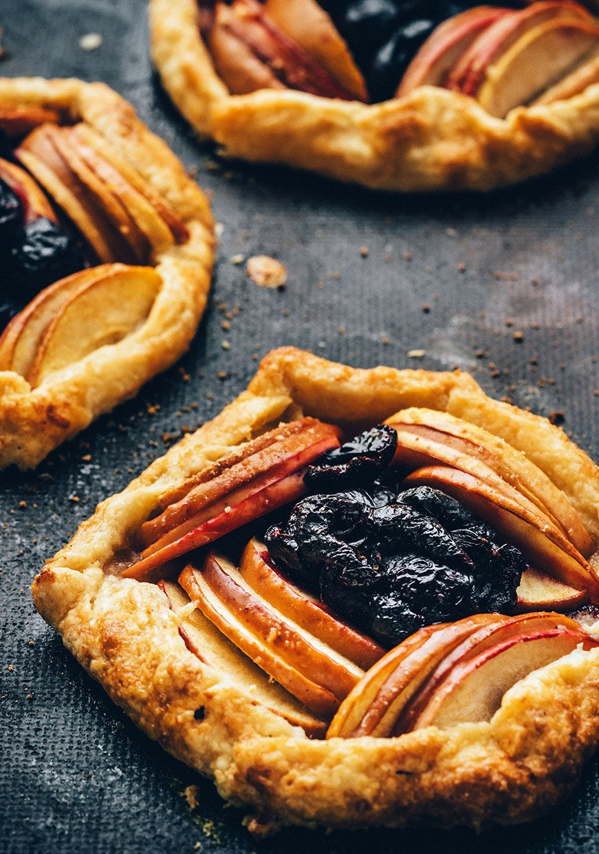 Vegan Cherry Apple Galette With Maple Sugar Crust c/o Luvo