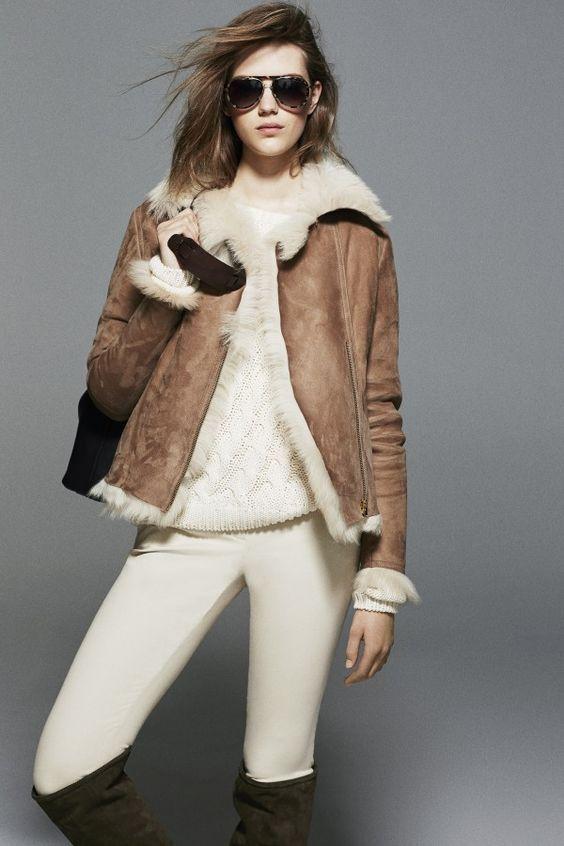 a749e80c6f2247 Модные и стильные дубленки 2018 года на зиму на фото. Какие дубленки будут  в моде зимой? Короткие и длинные, с капюшоном и без на фото.