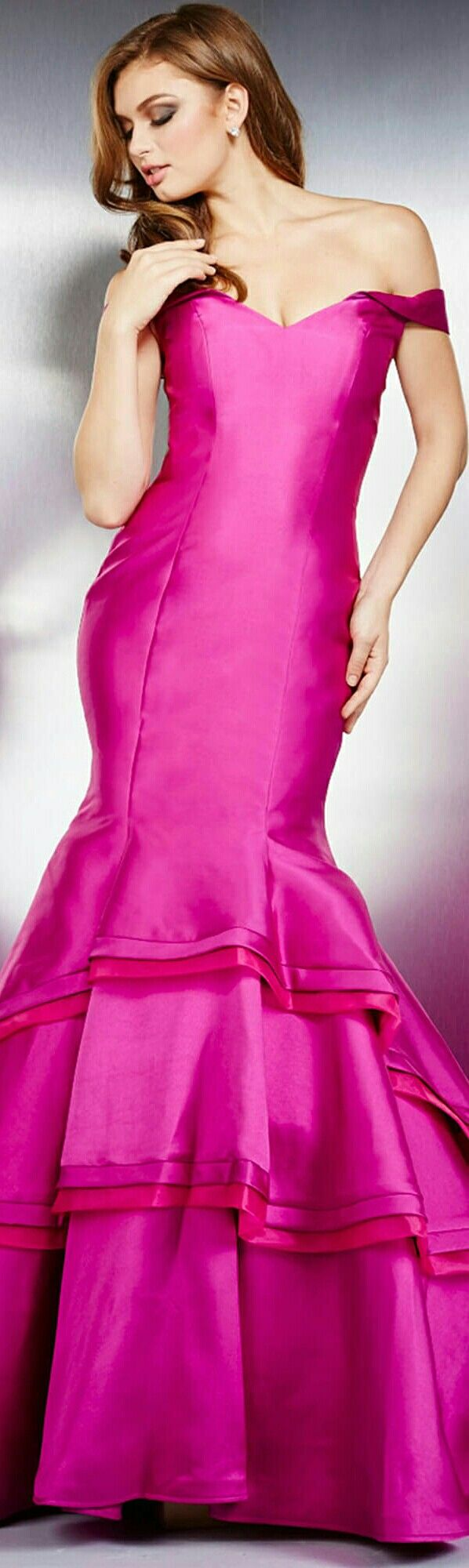 ❤JOVANI In Fuchsia 2016 #31100 ❤ | Color rosa y morado | Pinterest ...