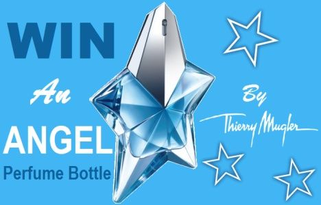 Win An Angel Perfume Bottle By Thierry Mugler