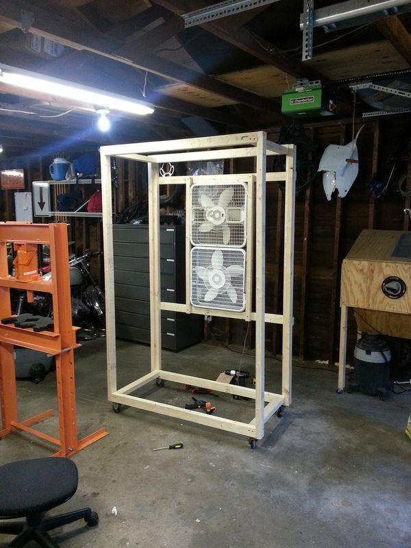 Diy Powder Coat Booth
