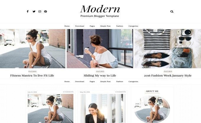Modern sidebar blogger template free professional blogger modern sidebar blogger template free professional blogger template responsive seo ready fashion photography portfolio designs pronofoot35fo Choice Image