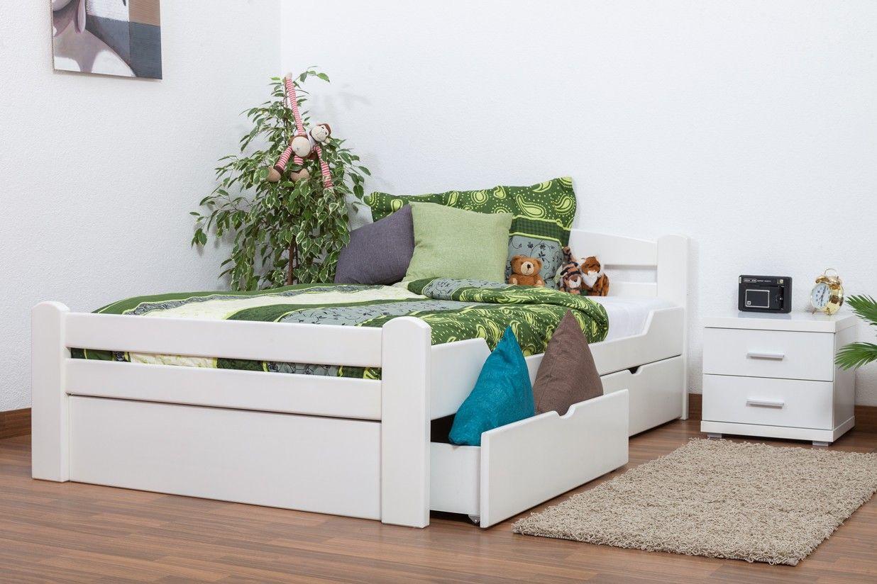 Jugendbett 120x200 In 2020 Bett Einzelbett Schubladen