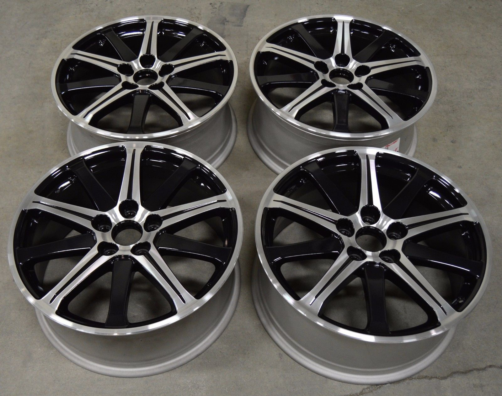 Acura TL Factory OEM Rim Wheel Black - Acura tl 19 oem wheels