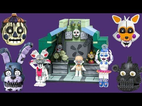 FNAF Wave 4 REVEAL | McFarlane Toys Five Nights at Freddy's Spring 2018 Set  Preview