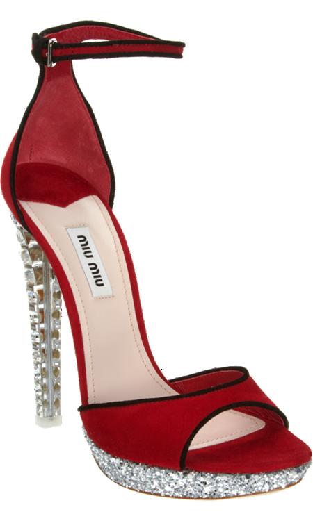 Heel Crystal ZapatosSexys Y SandalZapatos Miu c3qjL4A5R