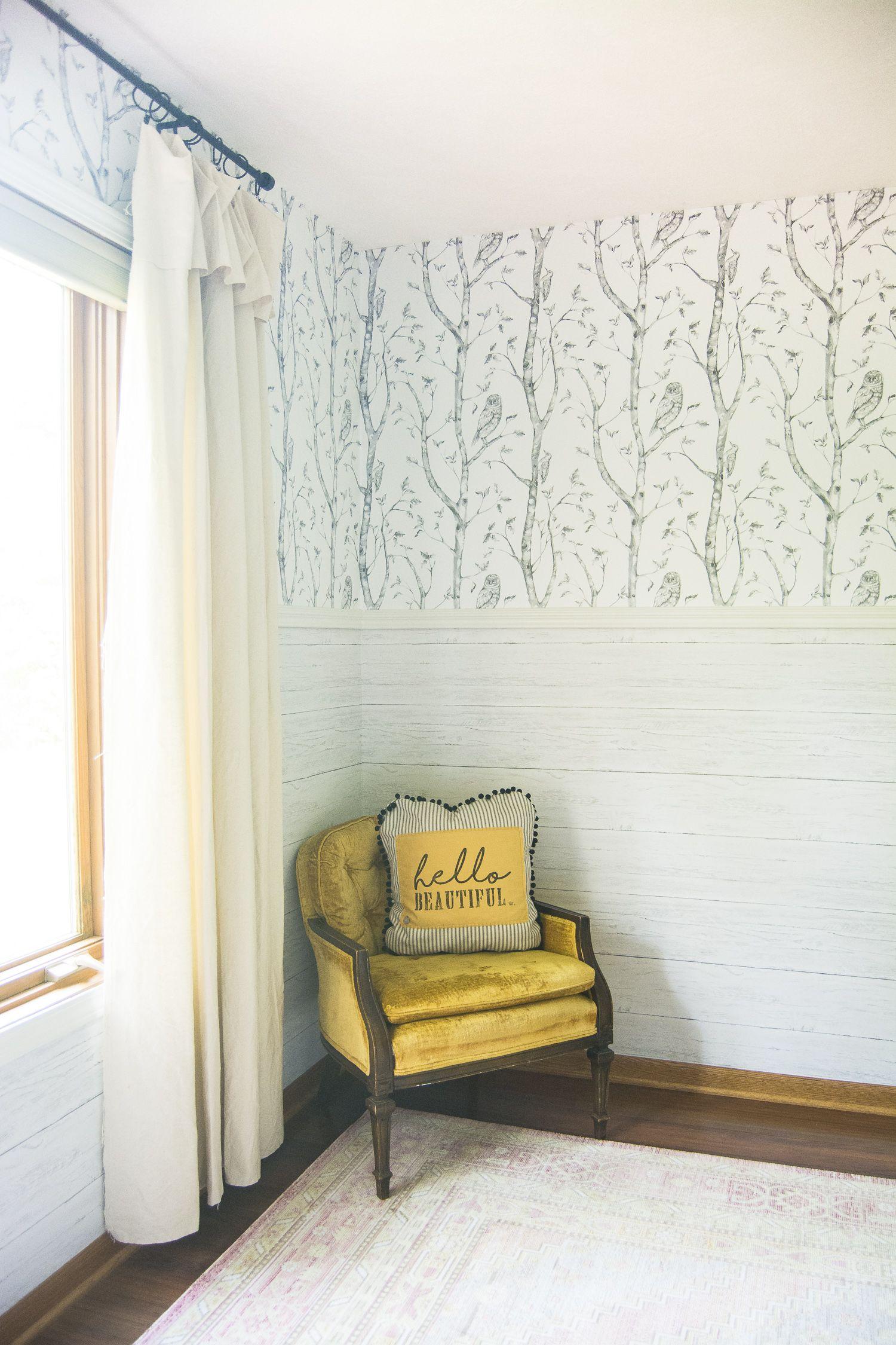 Peel and Stick Wallpaper Girls Bedroom Girls bedroom