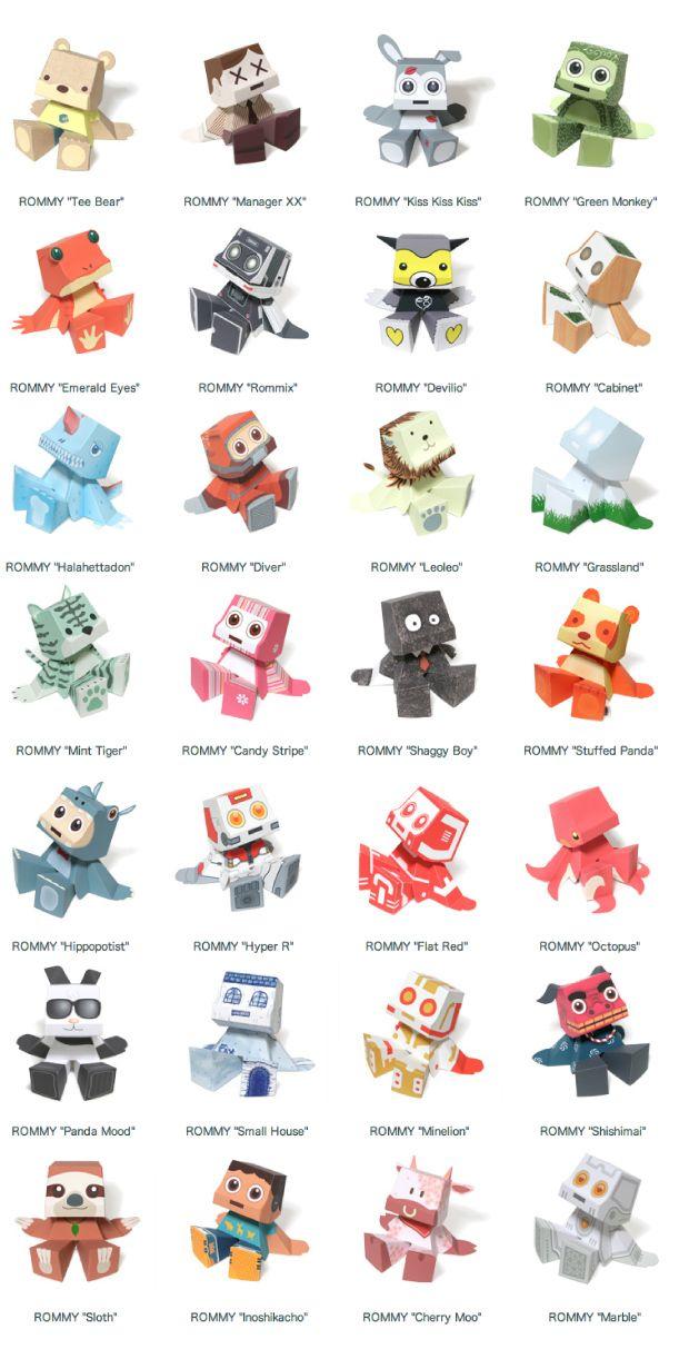 Free Printable Paper Toys - The Crafty Blog Stalker 0e5e13cfbdd
