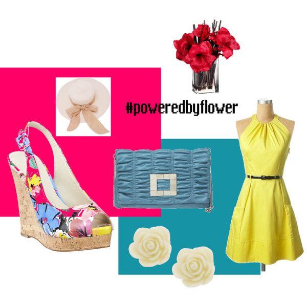 Power by Flower, created by tammybogdan