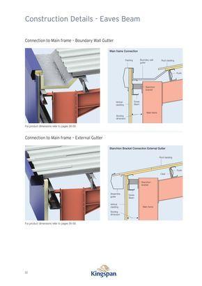 Eaves Beams 116023 5b Jpg 1000 1413 Roof Design Roof Construction Steel Frame Construction