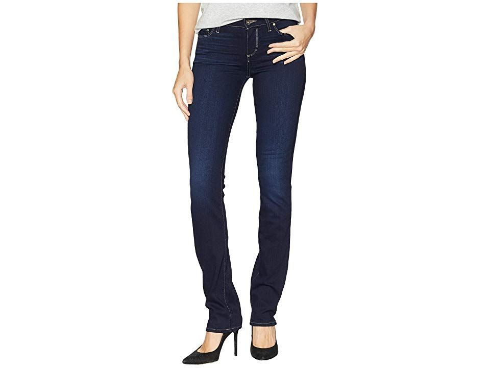 Paige Skyline Straight in Acadia Acadia Womens Jeans Keep your denim collection classically chic Skyline Straight boasts a lower mid rise and slim straight leg that taper...