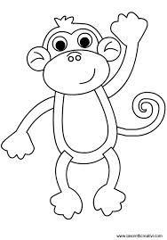 Disegni Da Colorare Animali Savana Cerca Con Google Monkey