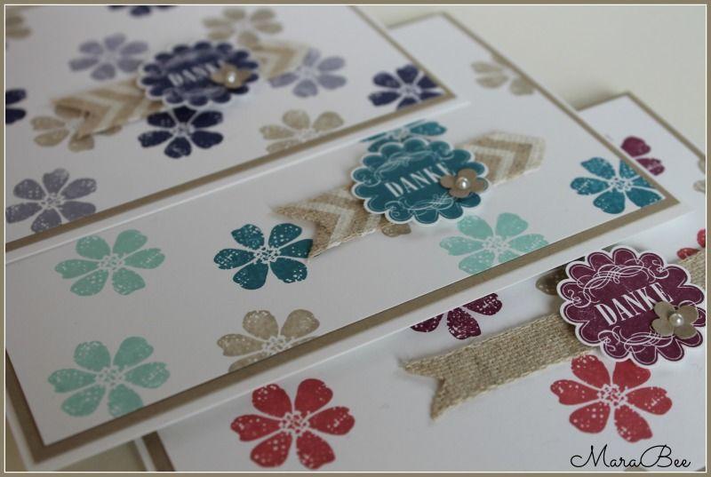 Thank you cards - Danke Karten