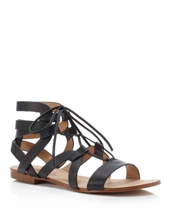 a308d920b183 Splendid Cameron Gladiator Lace Up Flat Sandals