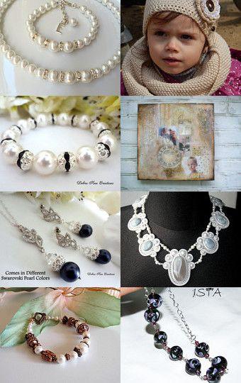 Рearl finds by Marina Varivoda on Etsy--Pinned with TreasuryPin.com