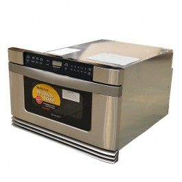 639 Sharp Kb6021ms 24 Inch Stainless Steel 120vac 60hz Boat Microwave Oven Drawer