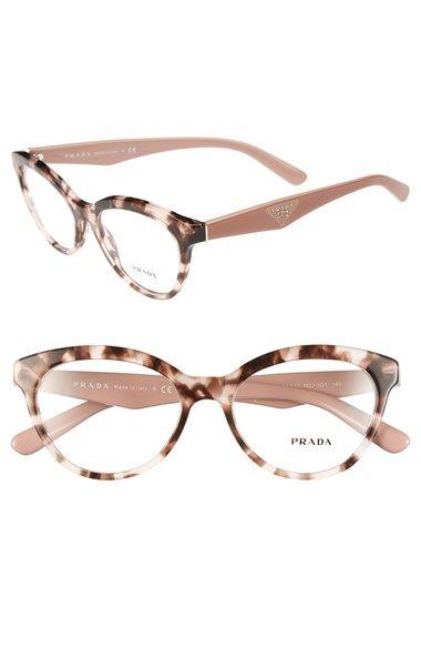 ff2f0bed70 Prada 52mm Optical Glasses available at #Nordstrom. Prada 52mm Optical  Glasses available at #Nordstrom Monturas Gafas Mujer, Lentes ...