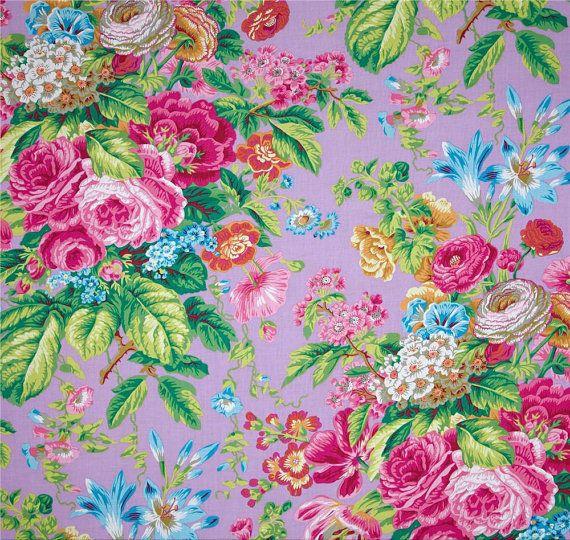 Cottage Chic Shower Curtain Purple Pink by asmushomeinteriors